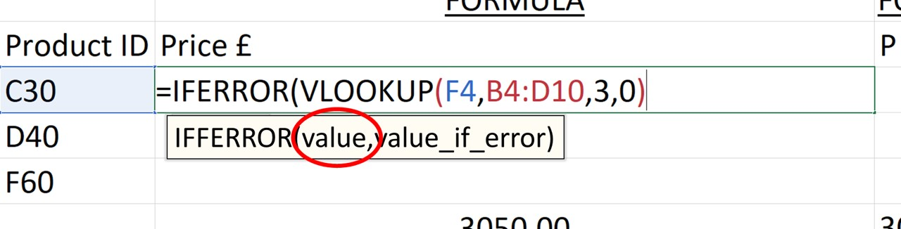 value element