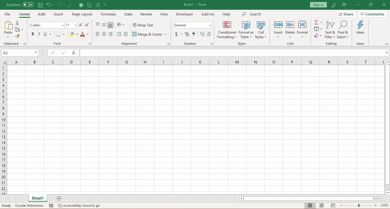 Basic Intro To Excel 1
