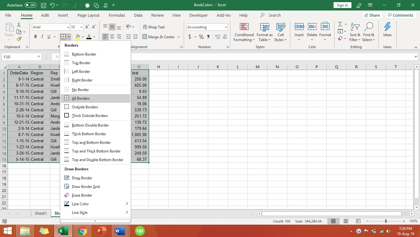 Basic Intro To Excel 13