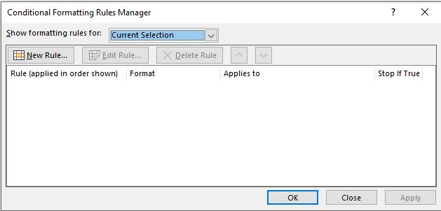Conditonal Formatting In Excel 17