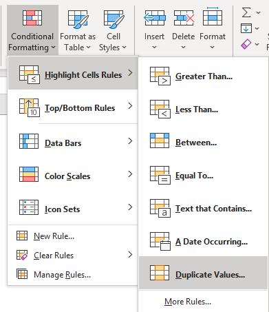 Conditonal Formatting In Excel 4