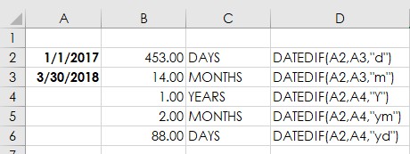 How To Excel Between Two Dates 3