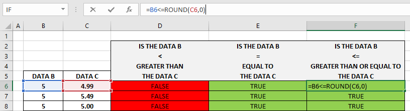 How To Use Excel Less Than Or Equal To Function 4