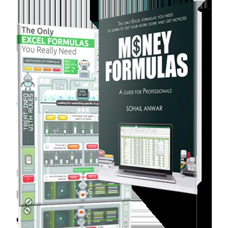 FREE Excel Formulas E-Book