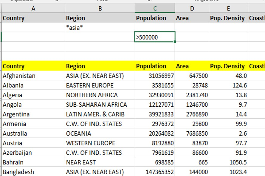 How Do I Filter Records in Excel? – Filtering Data in Microsoft