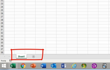 How To Get Familiar with Excel Worksheet 1
