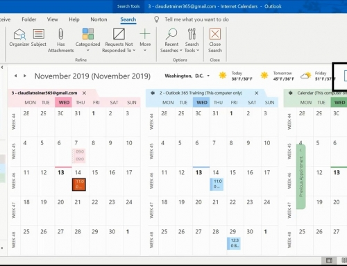 How To Search Calendar In Outlook