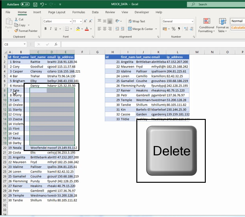 How To Work With Rows And Columns 6