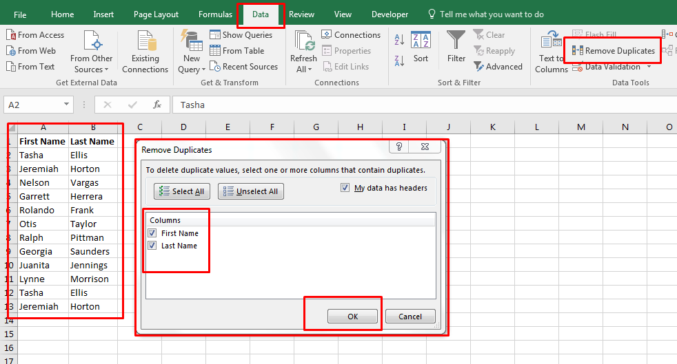 How To Delete Duplicates In Excel 1