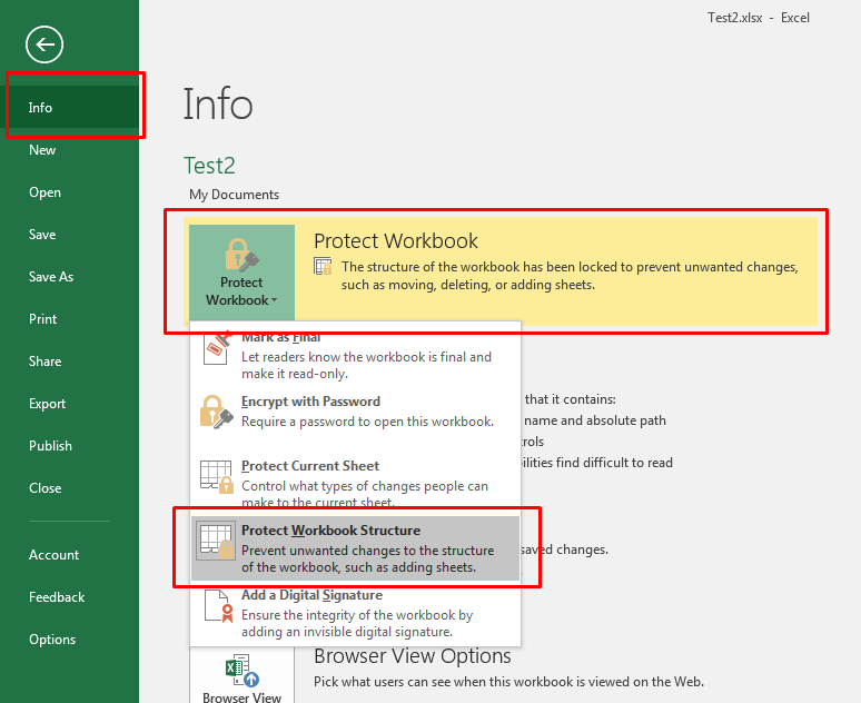 How To Password Protect An Excel File 2