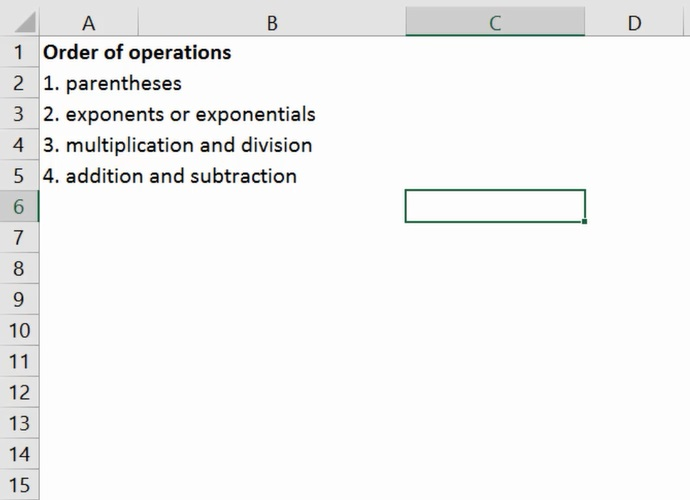 How To Apply Correct Order Of Operations 3