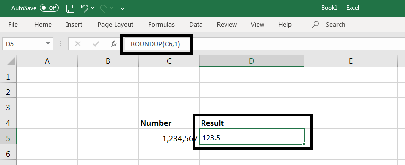 Round() Function in Excel 2