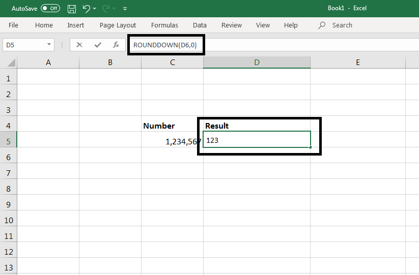 Round() Function in Excel 3