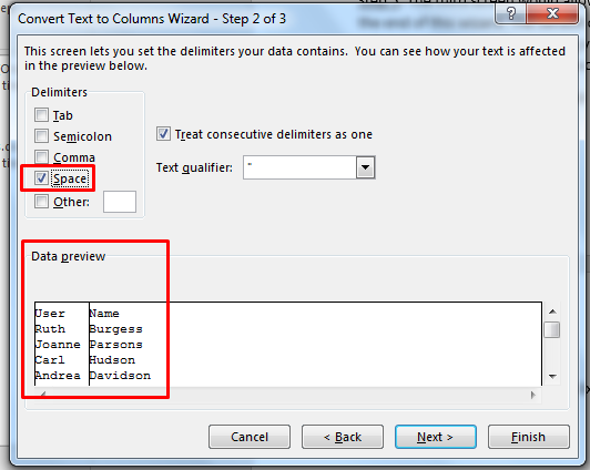 How To Separate First And Last Name In Excel 2