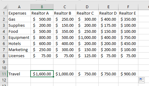How To Use Excel SUM Function 3