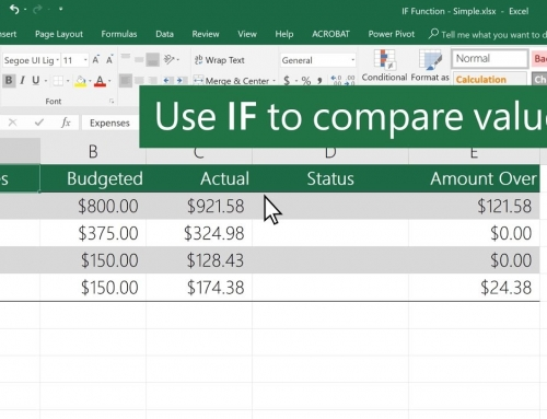Excel IF: All You Need To Know (2020 Guide)