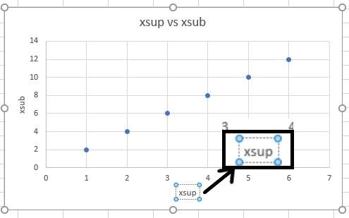 subscripts and superscripts in excel 2016 13
